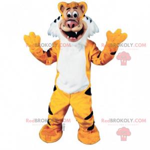 Maskot tygr s několika pruhy - Redbrokoly.com