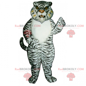 Snow tiger mascot - Redbrokoly.com