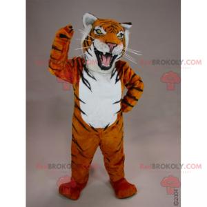 Tollwütiges Tigermaskottchen - Redbrokoly.com