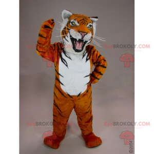 Zuřivý tygr maskot - Redbrokoly.com
