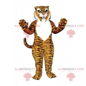 Maskotka zaciekły tygrys - Redbrokoly.com