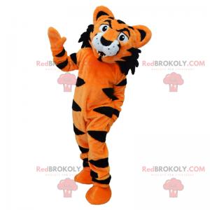 Orange tiger mascot - Redbrokoly.com