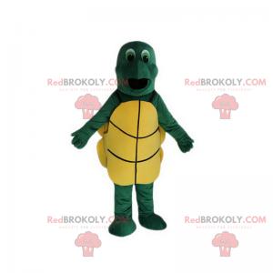 Mascote tartaruga de olhos verdes - Redbrokoly.com