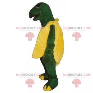 Skildpadde maskot slappe af - Redbrokoly.com