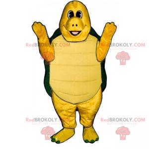 Lächelndes Schildkrötenmaskottchen - Redbrokoly.com