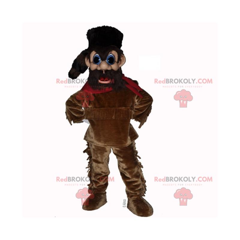 Trapper mascot - Redbrokoly.com