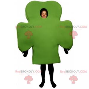 Clover mascot - Redbrokoly.com