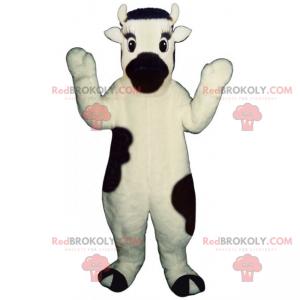 Maskot s černým nosem krav - Redbrokoly.com