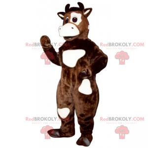 Kráva maskot s oční skvrnou - Redbrokoly.com