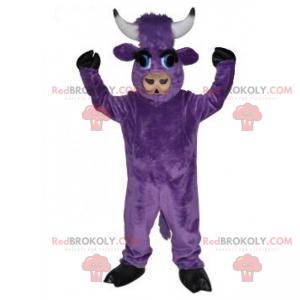 Fioletowa maskotka krowa - Redbrokoly.com