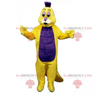 Glow worm mascot - Redbrokoly.com