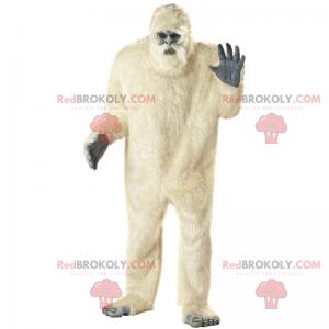 Yeti maskot - Redbrokoly.com