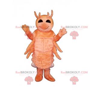 Mascotte di gamberi - Redbrokoly.com