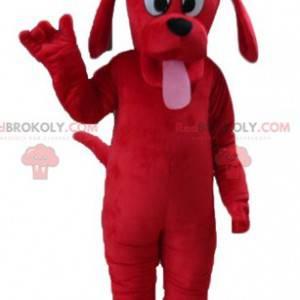 Mascotte del cane rosso famoso del cane di Clifford -