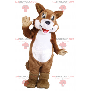 Lächelndes Eichhörnchenmaskottchen - Redbrokoly.com