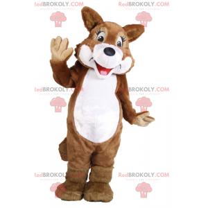 Smiling squirrel mascot - Redbrokoly.com