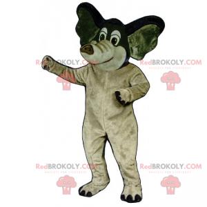 Dvoutónový maskot slona - Redbrokoly.com