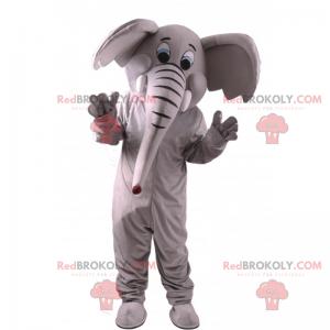 Klassisches Elefantenmaskottchen - Redbrokoly.com