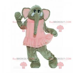 Maskot slona v baletu tutu - Redbrokoly.com