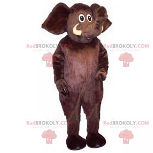Black elephant mascot - Redbrokoly.com