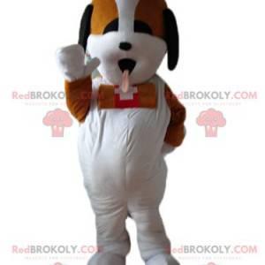 Maskot Saint-Bernard trikolóra záchranný pes - Redbrokoly.com