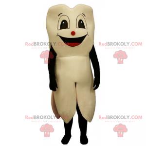 Maskot zubů s úsměvem - Redbrokoly.com