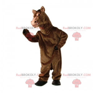 Klasický hřebec maskot - Redbrokoly.com