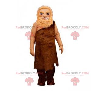 Prähistorisches Mannmaskottchen - Redbrokoly.com