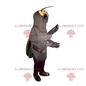 Centipede insect mascot - Redbrokoly.com