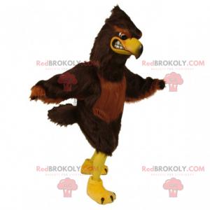 Ptačí maskot - jednobarevný orel - Redbrokoly.com