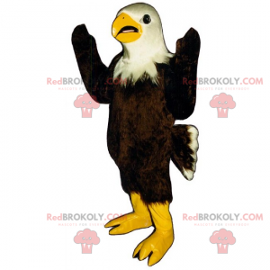 Fuglemaskott - Bald Eagle - Redbrokoly.com