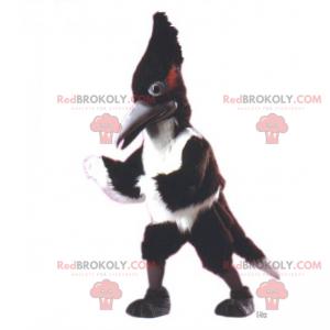 Long crest bird mascot - Redbrokoly.com