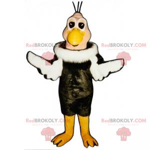 Ptačí maskot s dvoubarevným kabátem - Redbrokoly.com