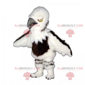 Myk pels fuglemaskot - Redbrokoly.com
