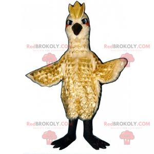 Ptačí maskot s hřebenem - Redbrokoly.com