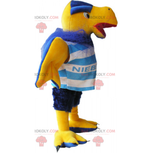 Bird mascot with supporter outfit - Redbrokoly.com