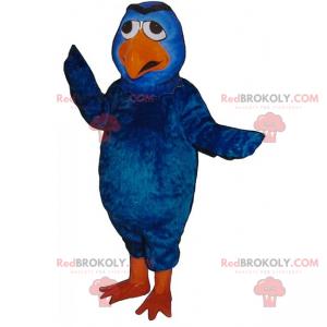 Blue bird mascot - Redbrokoly.com