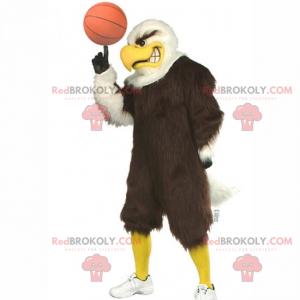 Basketball player bird mascot - Redbrokoly.com