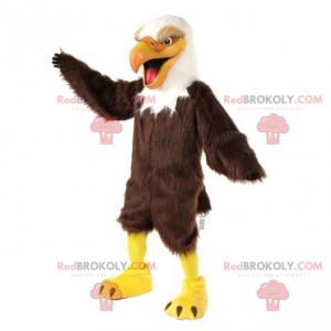 Threatening bird mascot - Redbrokoly.com