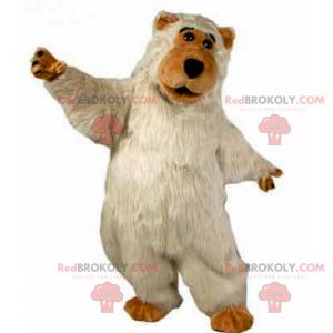 Medvěd maskot dlouhý a měkký - Redbrokoly.com
