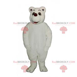 Polar bear mascot - Redbrokoly.com