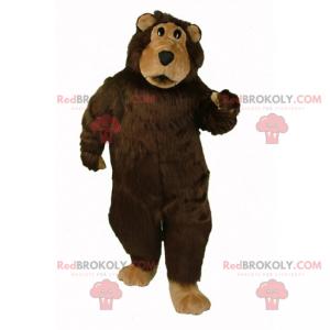 Medvěd hnědý maskot - Redbrokoly.com