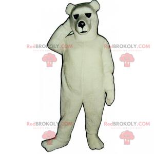 Klassisches Eisbärenmaskottchen - Redbrokoly.com