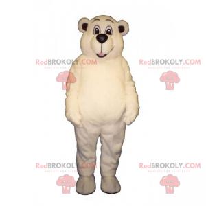 Uśmiechnięty maskotka niedźwiedź polarny - Redbrokoly.com