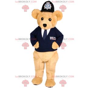 Tragen Sie Maskottchenbeige im Polizistenoutfit - Redbrokoly.com