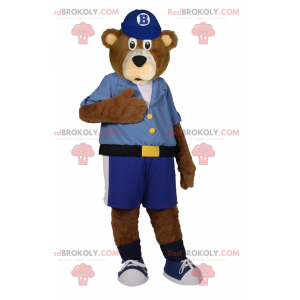 Maskot medvídek v bermudách - Redbrokoly.com