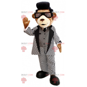 Bärenmaskottchen mit Elvis - Redbrokoly.com