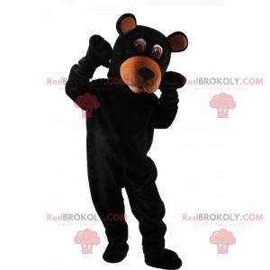 Schwarzbärenmaskottchen - Redbrokoly.com