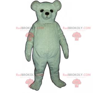 Biała maskotka niedźwiedź polarny - Redbrokoly.com