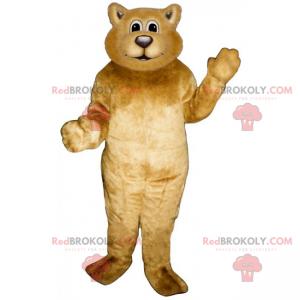 Měkký medvěd maskot - Redbrokoly.com